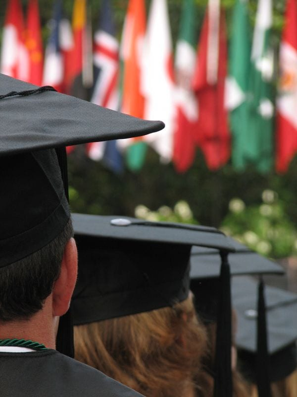 Dropouts Absent From Graduation