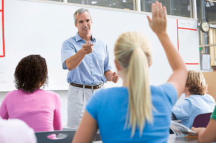 Dealing with high school classroom discipline